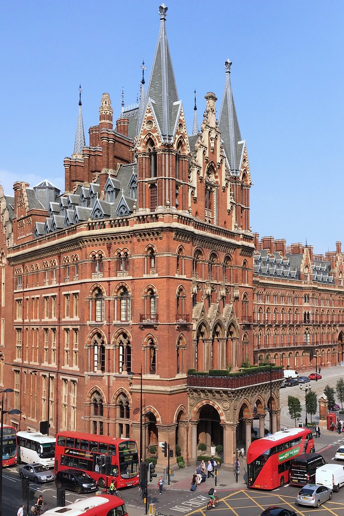 St. Pancras, London, England, U.K.