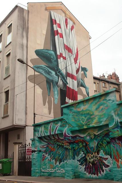 Grenoble, rue des Bergers, France
