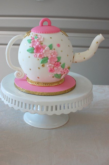 Teapot Cake by Cake Mama