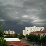 #cloud #Szolnok #storm #with #oppoR5