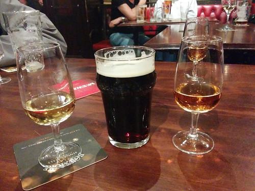 whisky and beer @ Pot Still