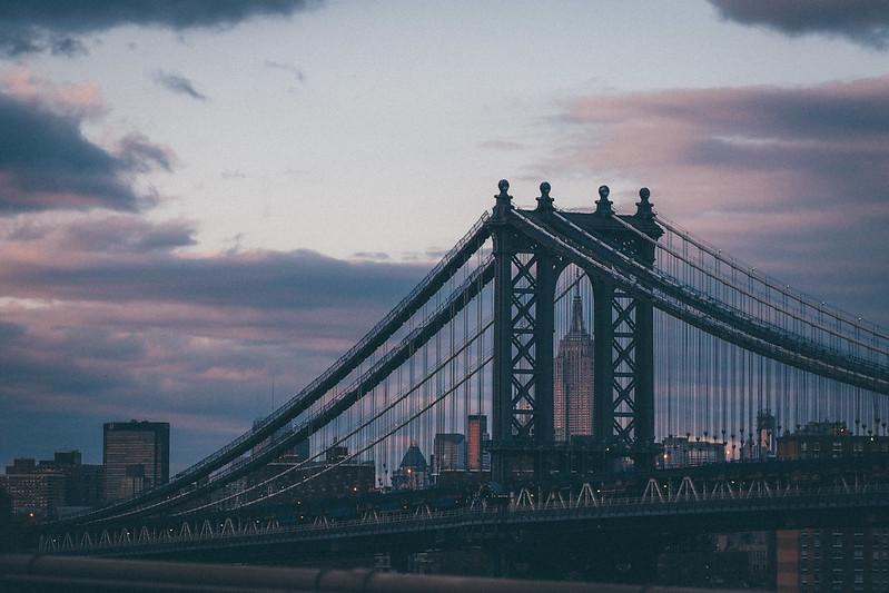 曼哈頓橋佐帝國大廈|New York City 紐約