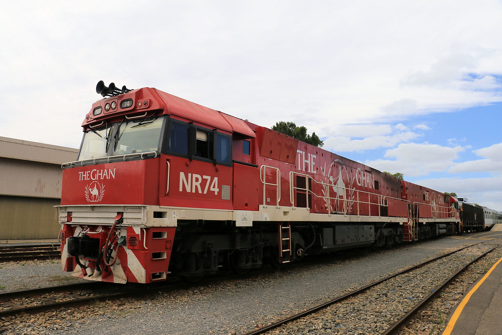 The Ghan - NR74 & NR75 by Jungle Jack