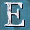 letter E by Leo Reynolds