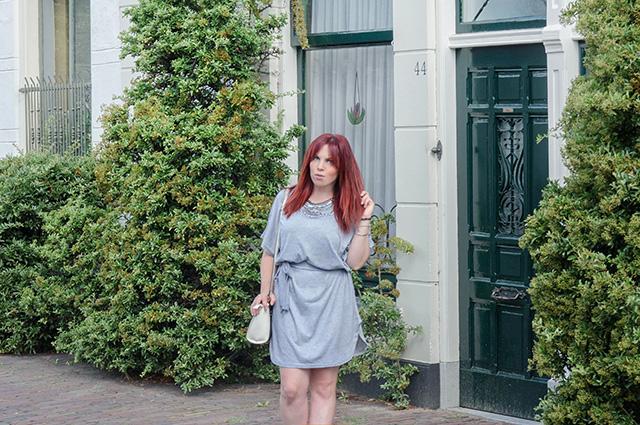 Vestido gris de Rosegal