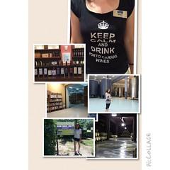 A great tour of @domaineportocarras #winery by head #winemaker Dionysia #Ambassador #winetasting #Greece #tour #mygreekodyssey