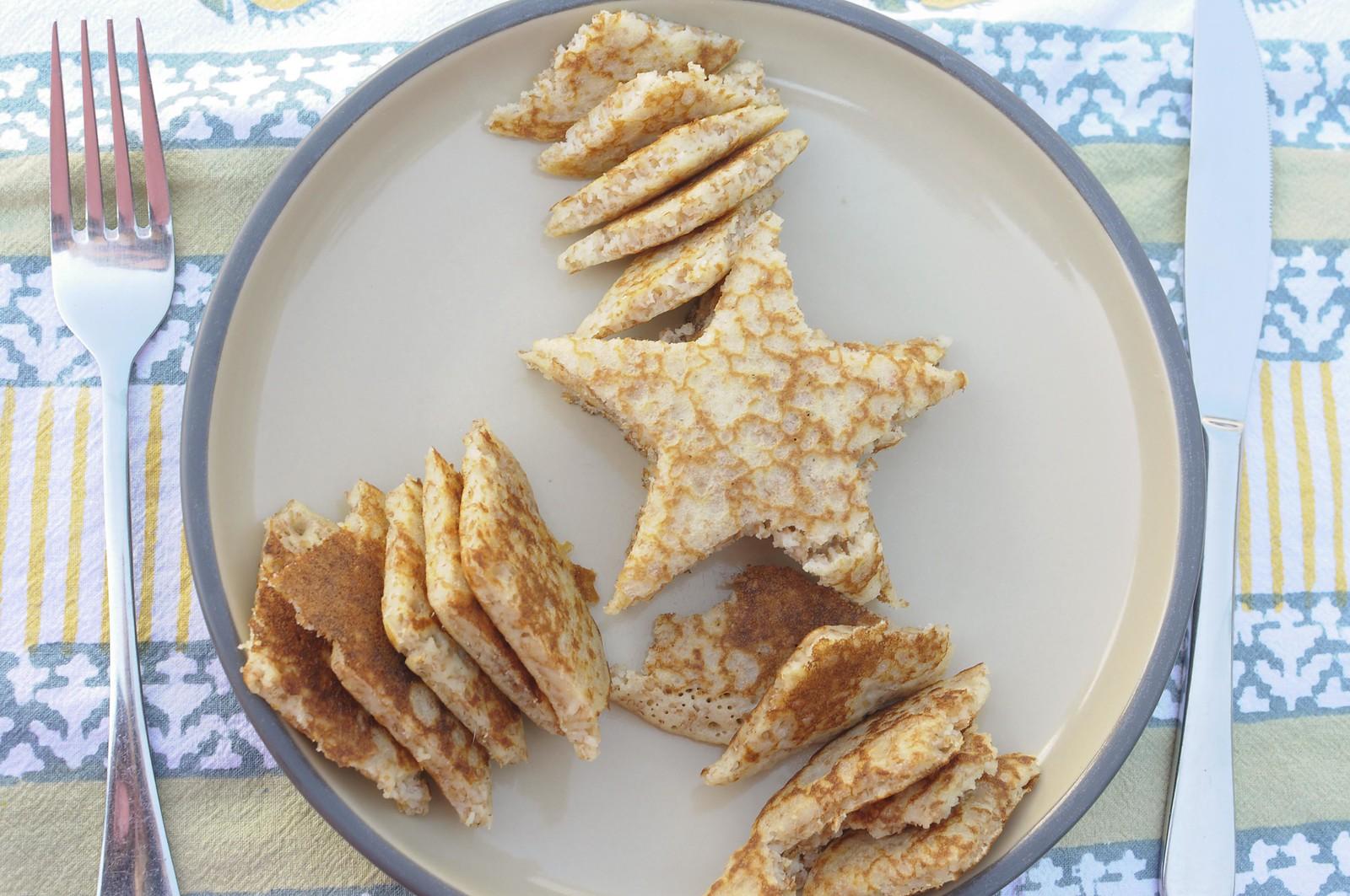 star pancakes