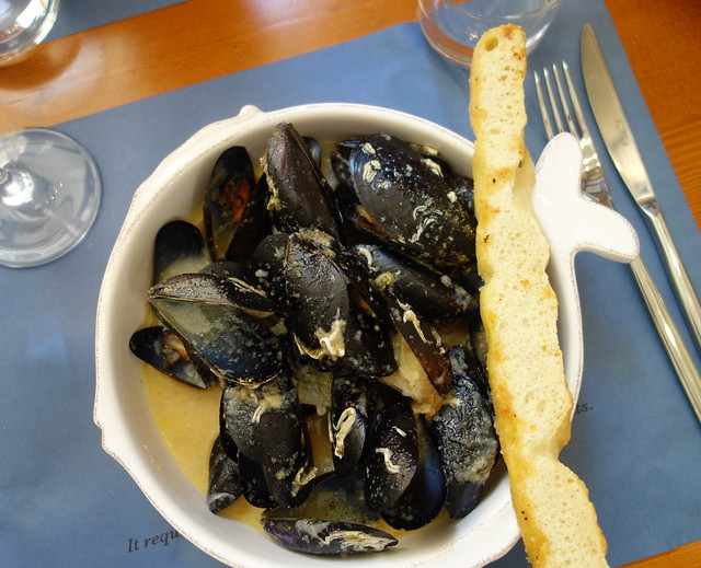 Mussels for lunch