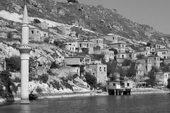 Halfeti - Old village under the dam water