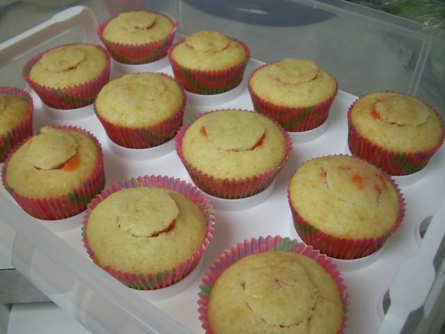 mango strawberry cupcakes 4