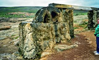 Mid 1994 - Old calcified water wheel near Cape Leeuwin, Western Australia