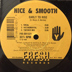 NICE & SMOOTH:MORE & MORE HITS(LABEL SIDE-B)