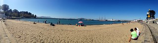 La plage en pleine ville