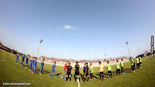 Catania-Equipe Sicilia: cronaca e tabellino