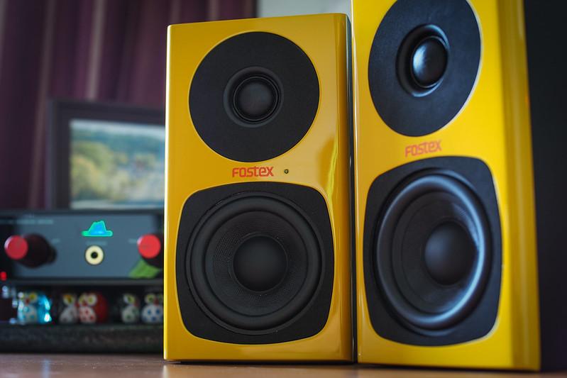 PA-3 Mustard Yellow|Fostex Speaker