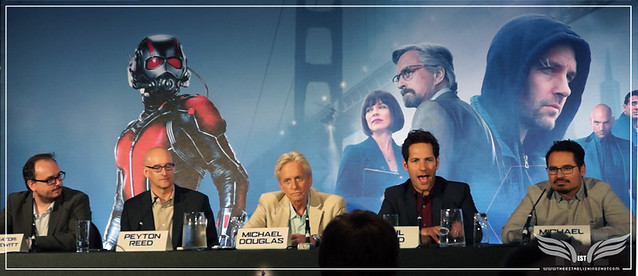 The Establishing Shot: PAUL RUDD TALKS CAPTAIN AMERICA: CIVIL WAR @ THE ANT-MAN EUROPEAN PRESS CONFERENCE - CORINTHIA HOTEL LONDON
