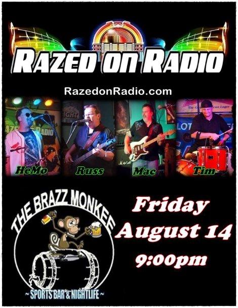 Razed On Radio 8-14-15