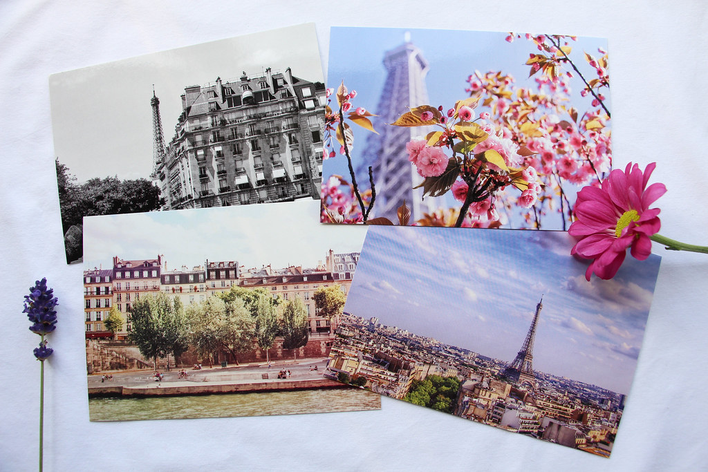 Roisin Grace Paris Postcards - how to display your postcards at home