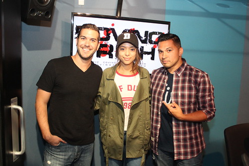 Amber Stevens West on the Covino & Rich Show
