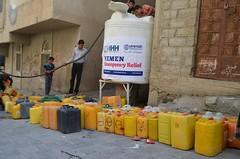 UWT-Water Relief in Taiz, Yemen of Emergency Relief Project in Yemen, 2016 (90)