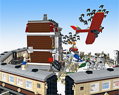 Lego 10218 PetShop (The Great Escape)