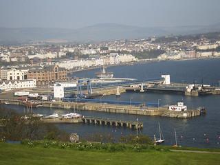 Douglas Bay, from Douglas Head, Isle of Man