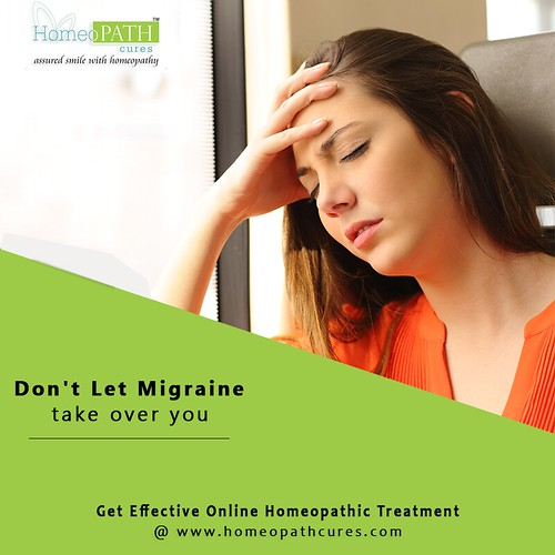 Treat Migraine with Homeopathy