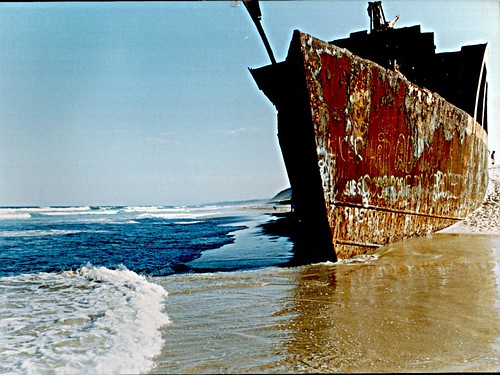The wreck of the Cherry Venture