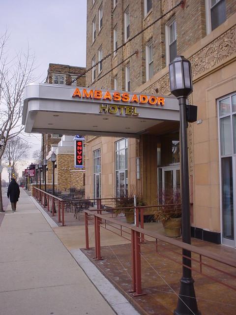 Header of Ambassador Hotel