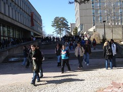 March 16, 2006 - 14:23 - Busy campus on Campus Day at the University of Guelph