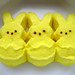 A  Trio Of Marshmallow Peeps   (Bunnies)  Mellow Yellow by Marc_714