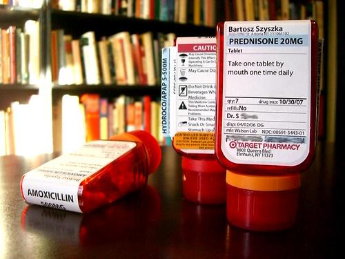 ClearRx prescription bottles - 無料写真検索fotoq