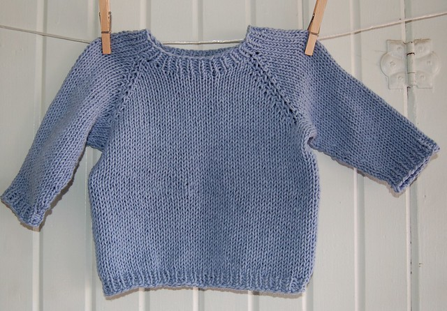 Knitting Pattern For Toddler Raglan Sweater : raglan baby sweater Flickr - Photo Sharing!