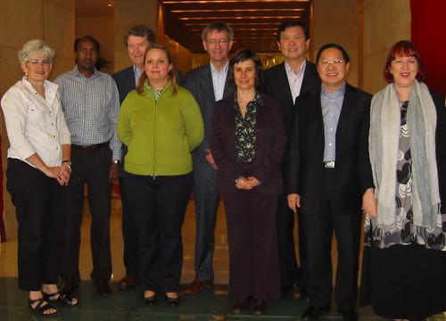 IFACCA board meets in Beijing, October 2006