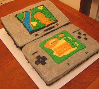 IT'S A NINTENDO DS CAKE!