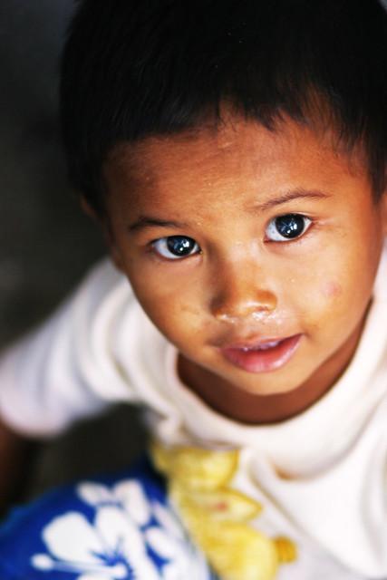 Jacob smiling, Mobi, Yangon, Myanmar