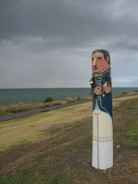Bollards of Eastern Beach