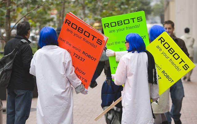 Spreading the Gospel of Robot Love