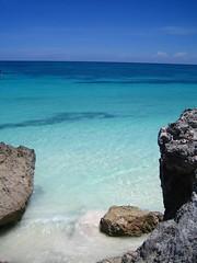 Tulum turquoise water