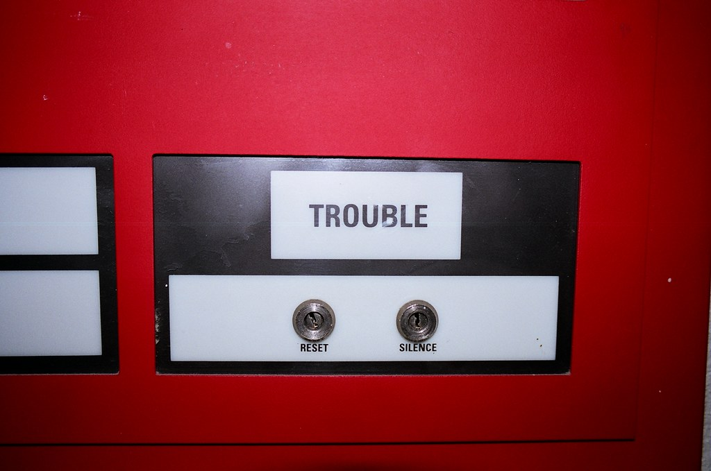 trouble!