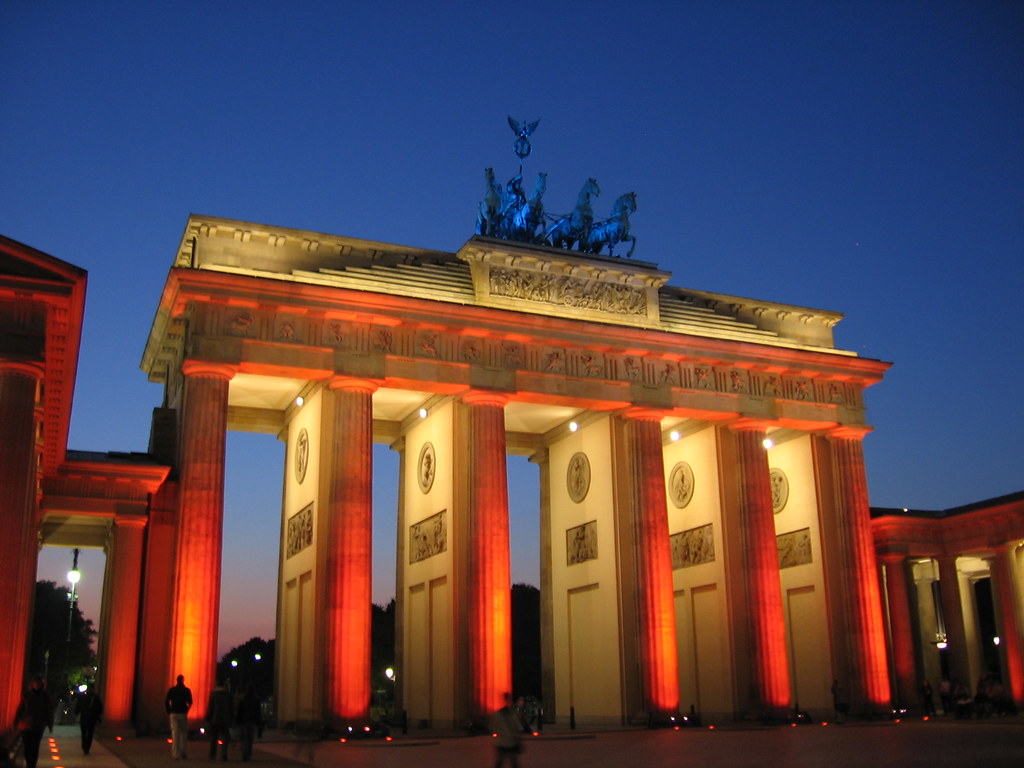 Brandenburger Tor, Berlin, fotoeins