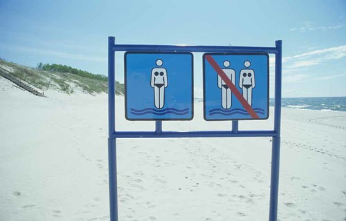 Women only beach??