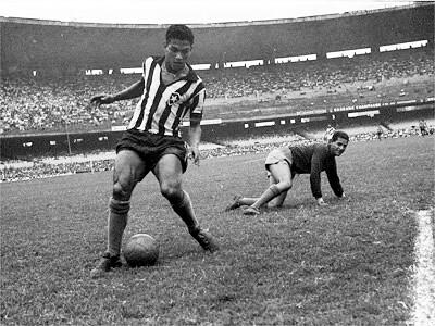 Mané Garrincha - Foi um excelente jogador brasileiro