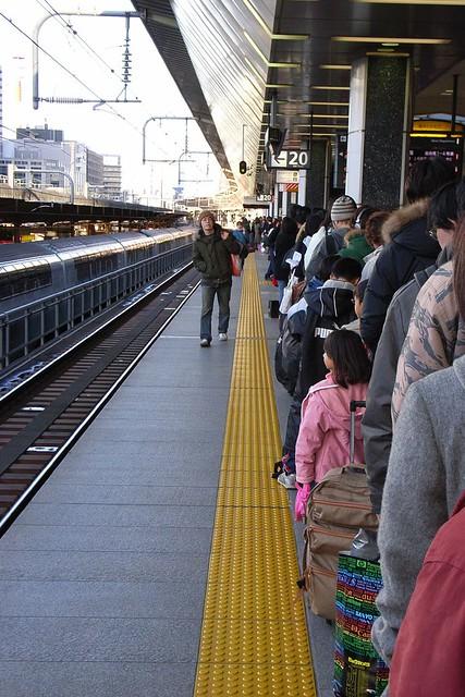 帰省ラッシュ@TOKYO駅