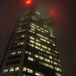 Scotiabank in the fog