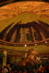 Reception area at MGM Grand