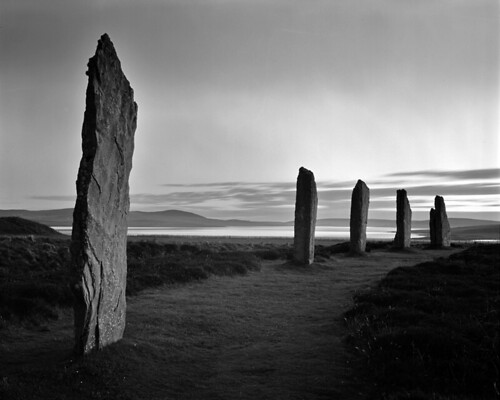 The Ring of Brodgar on Orkney, Northern Scotland