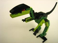 mecha, lego, green, toy,