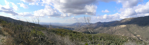 panorama pano idyllwildca mountians
