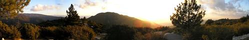 panorama pano idyllwildca mountians indianvista